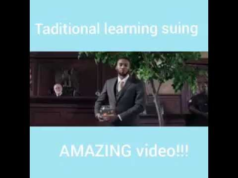School And Traditional Learning suing.. AMAZING video!!