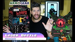 Armogear Laser Battle: Unboxing and (Short Review)