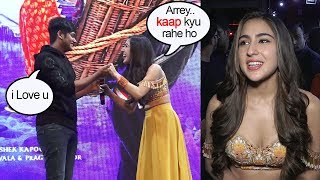 Sara Ali Khan's FUNNY Moment With College Boy Who Comes To PR0POSE To Her At Kedarnath Promotions