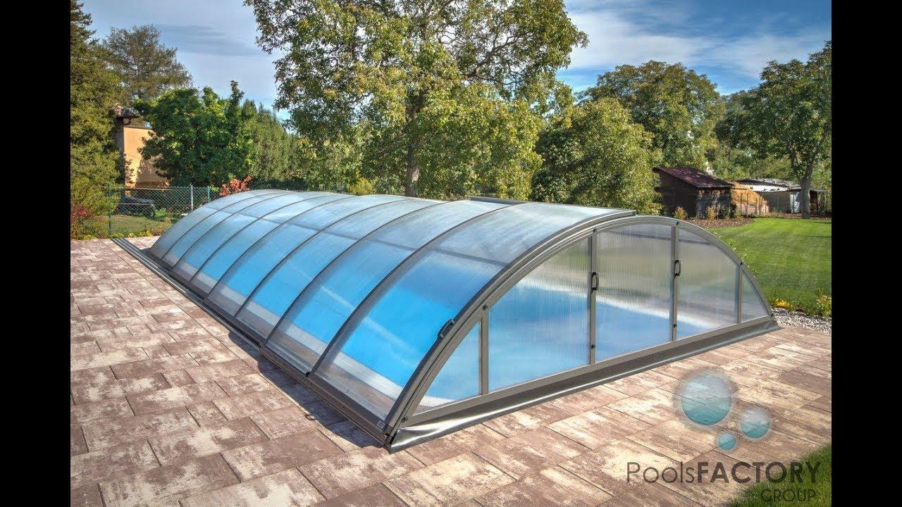 Inteligentny 22. PoolsFACTORY GROUP Basen ogrodowy, kąpielowy - zadaszenie XD69