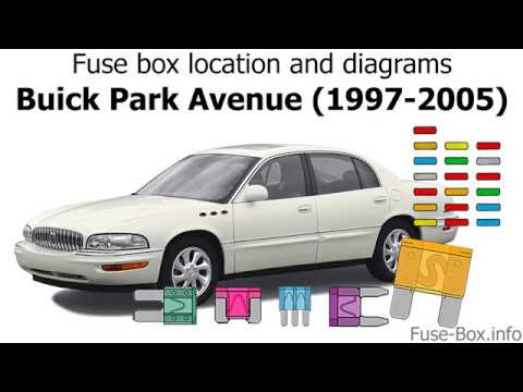 Fuse box location and diagrams: Buick Park Avenue (1997-2005) - YouTubeYouTube