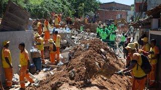 Оползень в Бразилии: не менее 14 погибших