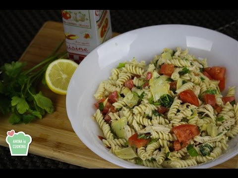 Pasta And Chicken Salad - Episode 128 - Amina Is Cooking