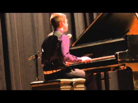 Dylan Mazzarella performing Timekeeper by Grace Potter and the Nocturnals