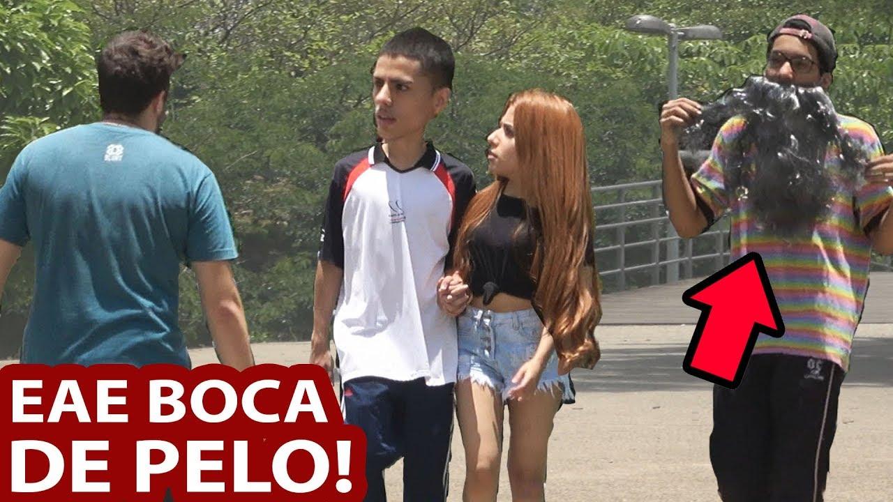 EAE BOCA DE PELO! - YouTube