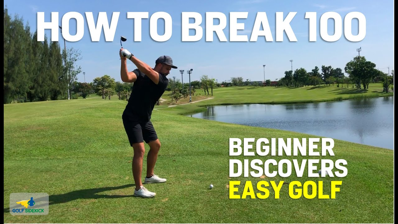 How to Break 100 With New Golfer - Beginner Learns How Easy Golf Really Is