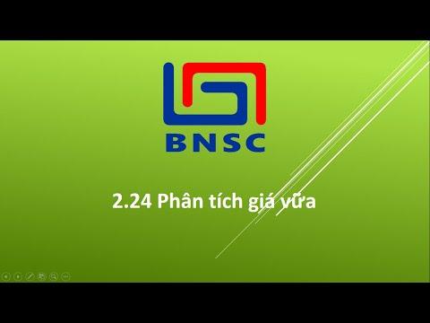 Hướng dẫn tính năng Phân tích giá vữa - Dự toán BNSC