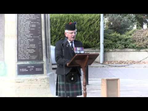 Nairn honours Captain John MacGregor VC MC & Bar DCM ED