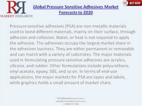 Premium Insight of Pressure Sensitive Adhesives Market Forecasts to 2020 and Analysis