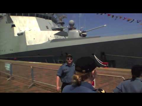 HDMS Absalon, Quebec City port visit