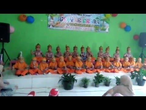 Persembahan PAUD Qurrota Ayun Bandar Lampung