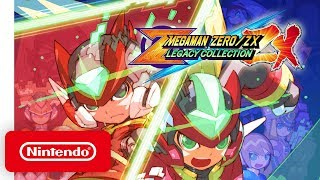 Mega Man Zero/ZX Legacy Collection - Announcement Trailer - Nintendo Switch