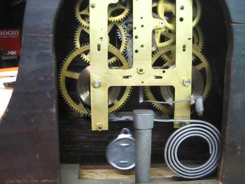 1927 Ingraham Mantle Clock Movement
