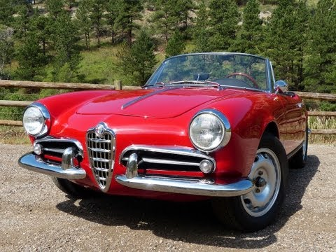 Forza Friday: The Classic & Sexy 1960 Alfa Romeo Giulietta Spider Revealed