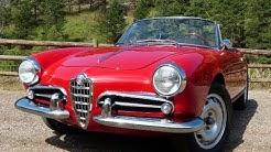 Forza Friday: The Classic & Sexy 1960 Alfa Romeo Giulietta Spider Revealed