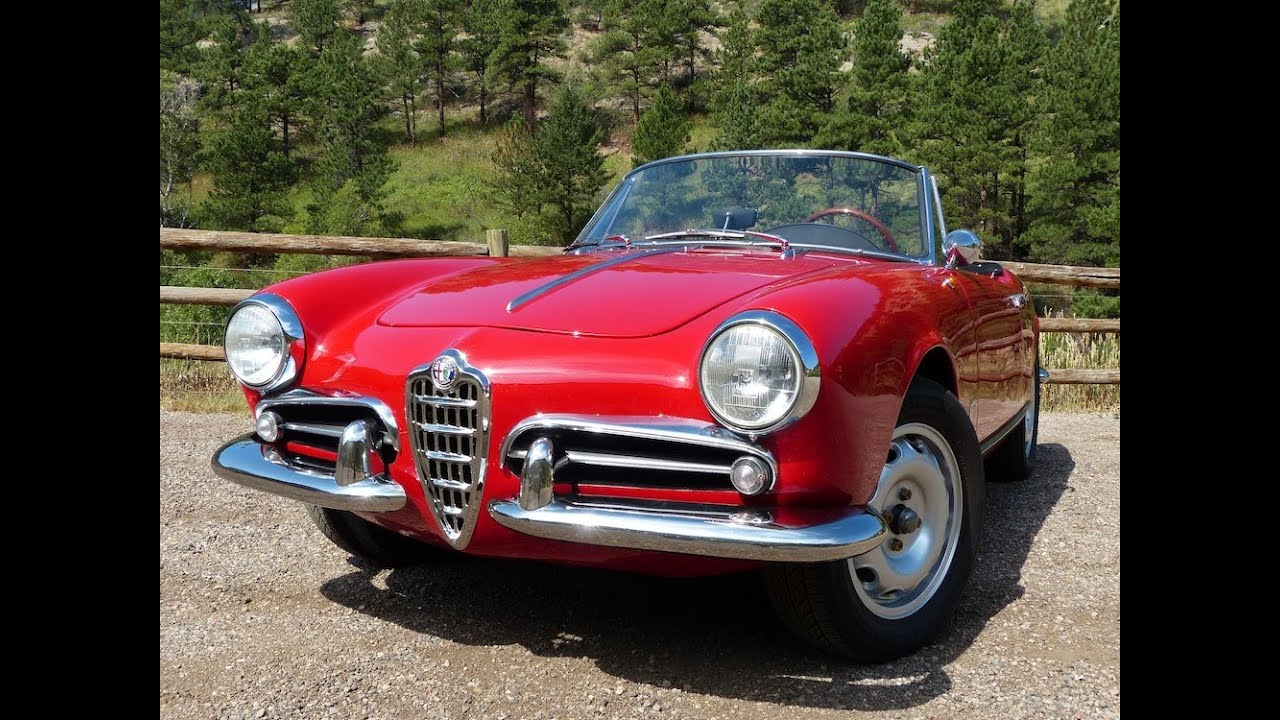 Forza Friday: The Classic U0026 Sexy 1960 Alfa Romeo Giulietta Spider Revealed    YouTube