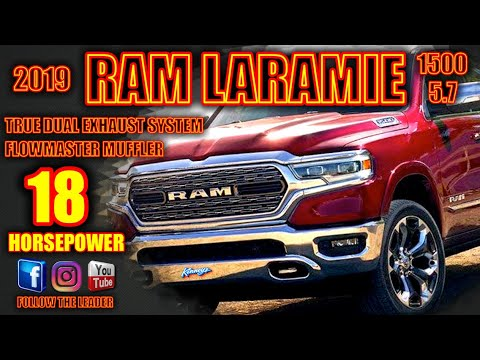 Repeat 2019 Ram 1500 Flowmaster True Dual Performance