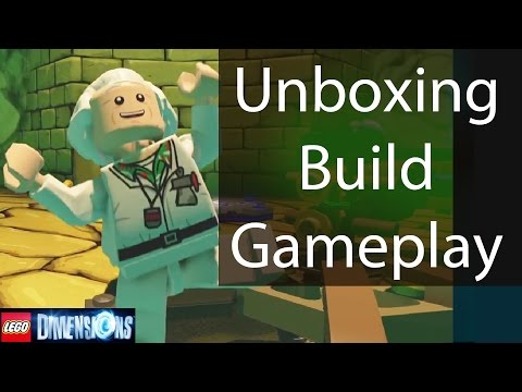 LEGO Dimensions Doc Brown Fun Pack: Instructions/Unboxing/Building/Gameplay