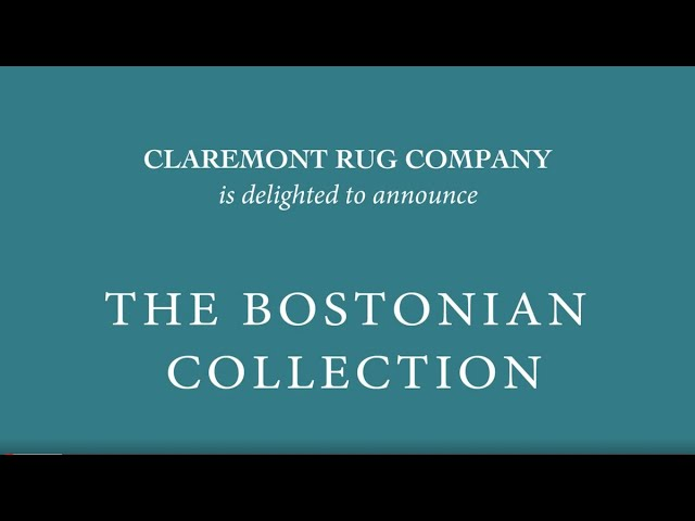 Bostonian Collection of Antique Art Carpets - Claremont Rug Company