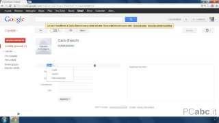 Rubrica contatti di Gmail | Come Usare Gmail 18/18