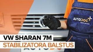VW SHARAN Stabilizatora Bukses maiņa: rokasgrāmata