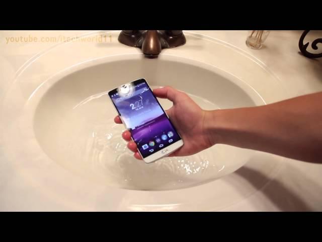 Is the LG G3 waterproof? – BGR