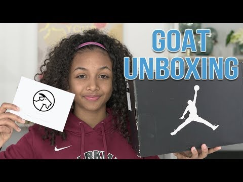 Goat Sneaker Unboxing – Are they legit? | LexiVee03