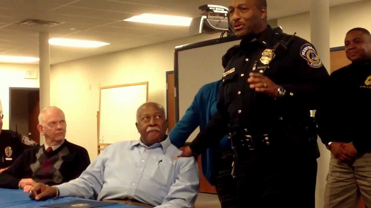 Minority Police Officers Celebrate William Myers for 50 ...
