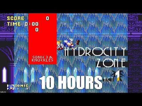Sonic 3 - Hydrocity Zone Act 1 Extended (10 Hours)