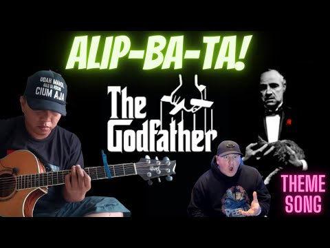 The Godfather theme song (fingerstyle cover) - UNCLE REACTS  _ MANTAP! KOPI MANA KOPI