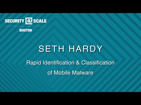 Rapid Identification and Classification of Mobile Malware