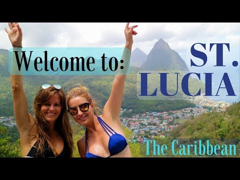 St Lucia Beaches Boats & Waterfalls - Caribbean Style