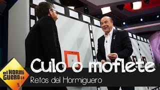 Antonio Resines alucina con el juego 'Culo o moflete' - El Hormiguero 3.0