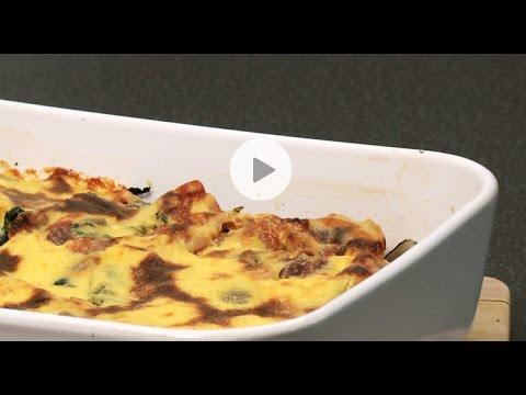 recette de gratin de blettes pancetta parmesan youtube. Black Bedroom Furniture Sets. Home Design Ideas