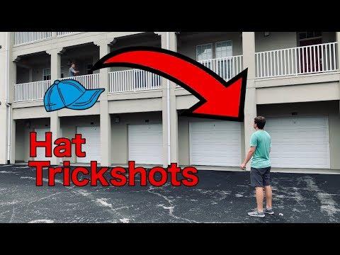 HAT TRICKSHOTS?!?!-One Shot