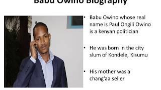 Babu Owino Biography, Age, Wife, Kids, Wealth and Politics