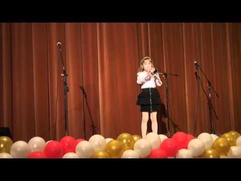 """George Weiss """"The Lion Sleeps Tonight"""" - Давликанова Ксения (блокфлейта 1 класс)"""