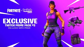 VOICI THE PROCHAIN PACK TWITCH FREE ON FORTNITE BATTLE ROYAL -PS4/XBOX ONE/PC- 💚