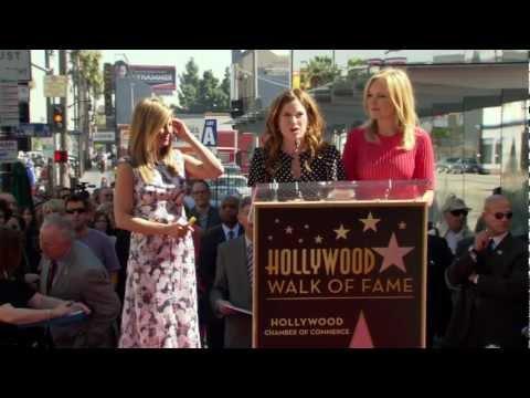 Jennifer Aniston's Star on the Hollywood Walk of Fame Ceremony  Kathryn Hahn's Speech
