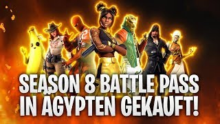 SEASON 8 BATTLE PASS PURCHASED IN EGYPT! 🔥 | Fortnite: Battle Royale