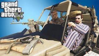 GTA 5 Online Smesni Momenti - 2 LUDAKA VS CELE VOJSKE   W/ CerixHD