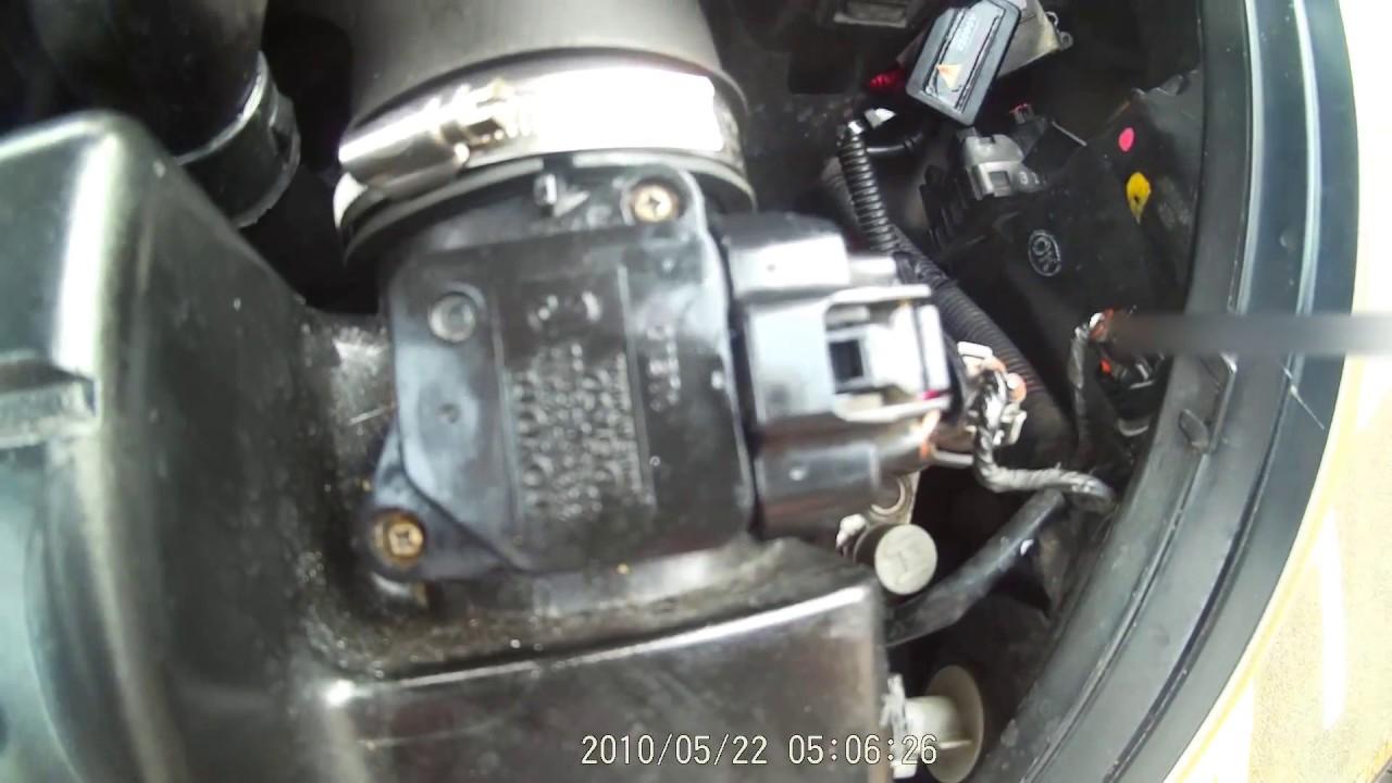 Toyota Tacoma Diesel >> MAF Sensor Cleaning - Toyota - YouTube