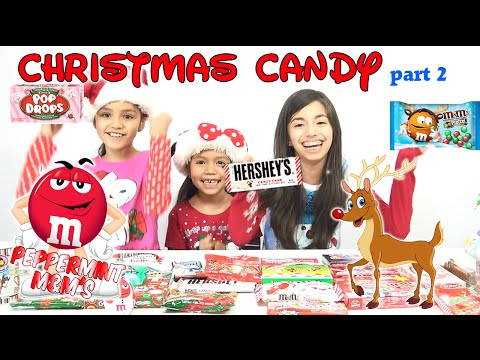 HOLIDAY CANDY Taste Testing Part 2 | KidToyTesters