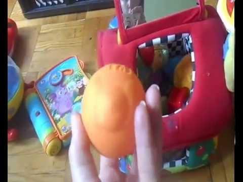 Наши любимые игрушки от 9 до 15 месяцев.