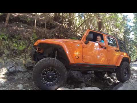 Jeep Off Road Adventures - Eagle Landed