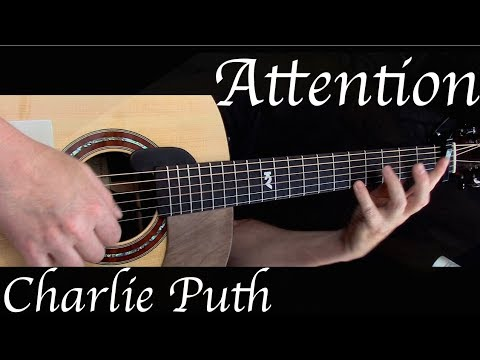 Kelly Valleau - Attention (Charlie Puth) - Fingerstyle Guitar