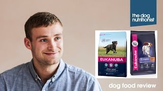 Eukanuba Dry Dog Food Review