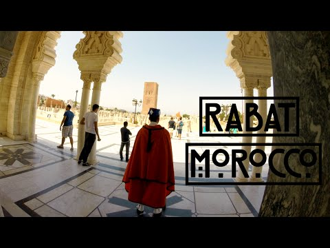 A DAY WITH ME | Friends | Tour | Rabat الرِّبَاط - Morocco