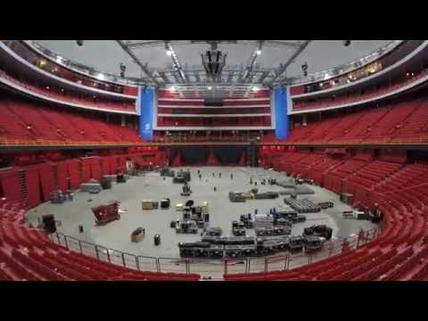 Eurovision 2016 - Building Stage (Time-lapse)