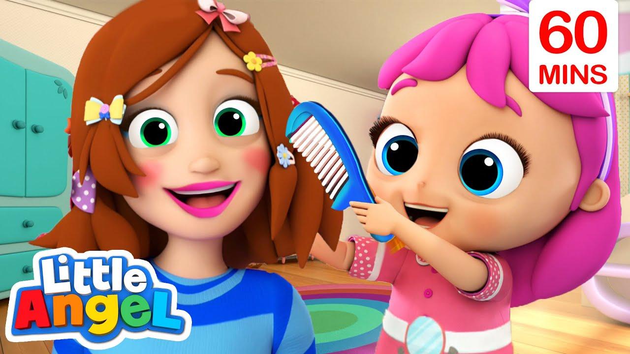 Download Beauty Salon Song | Mommy Is My Hero + More Little Angel Kids Songs & Nursery Rhymes